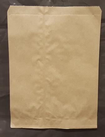 Flat Brown Kraft Merchandise Bags